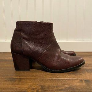Freda Salvador calf leather studded booties